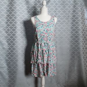 Justice Spring dress, size 18